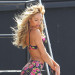Victoria's Secret Angels Film A Commercial In Miami