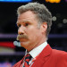 Will Ferrell celebrates his birthday at the Lakers v Suns game, Los Angeles, CA