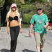 Courtney Stodden Out For A Jog With Her Husband