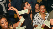 Drake Makes It Rain in the Club