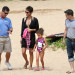Halle Berry Vacations In Hawaii With Olivier & Nahla