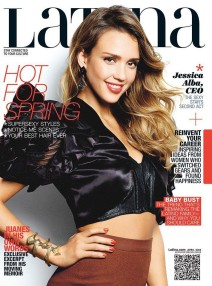 Jessica Alba for Latina Magazine, April 2013
