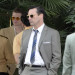 John Hamm Films 'Mad Men' In Los Angeles