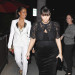 Kim Kardashian Eats Out With LaLa Vasquez