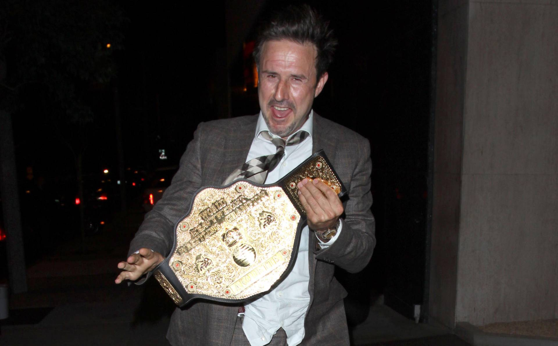 super tanie ekskluzywne buty aliexpress David Arquette Ran Around With a WCW Belt | The Blemish