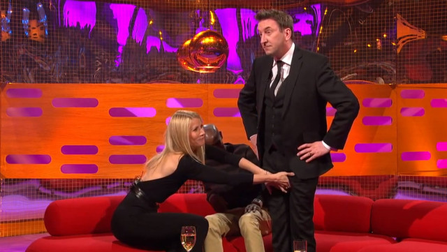 Gwyneth Paltrow Grabs Balls