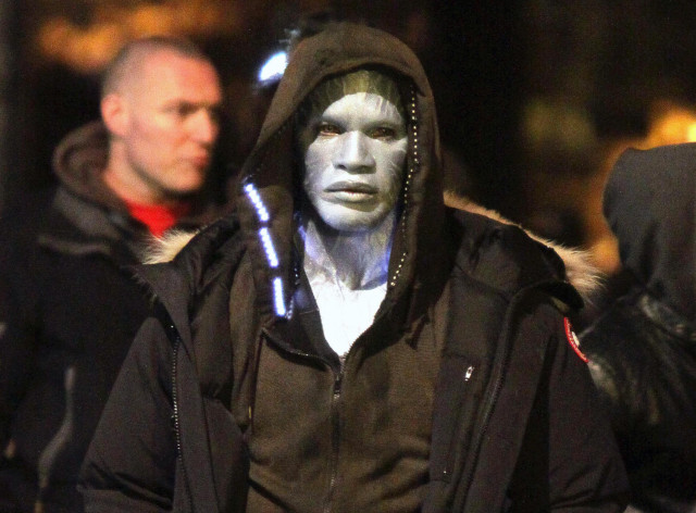 First Shots of Jamie Foxx as Electro | The Blemish