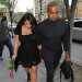 Kanye West & Kim Kardashian Out In NYC