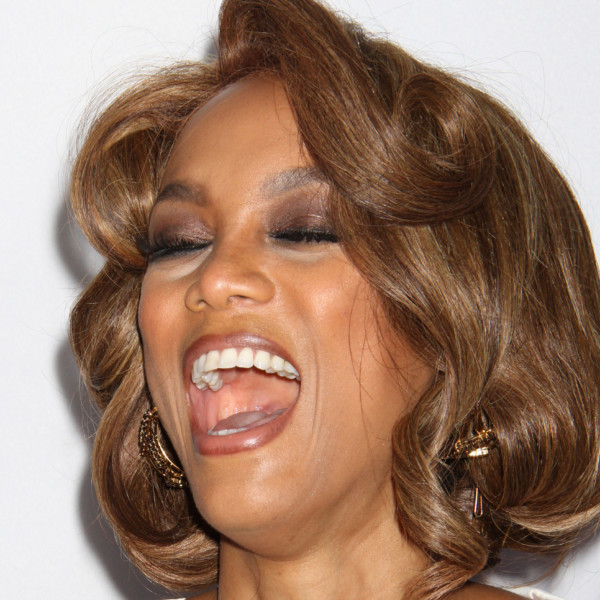 Tyra Banks Does Whiteface