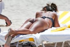Vida Guerra Shows Off Her Bikini Body In Miami