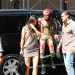 Jaden Smith (dressed as 'Iron Man') and Kylie Jenner out together in NYC