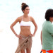 Lily Aldridge Shows Off Her Bikini Body