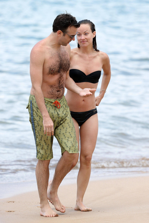 Olivia Wilde & Jason Sudeikis Enjoying Some PDA In Hawaii ... Olivia Wilde
