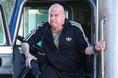 Paul Giamatti On The Set Of 'The Amazing Spiderman 2'