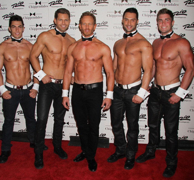 Ziering Debuts As New Celebrity Guest Star Of 'Chippendales Las Vegas
