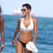 Nicole Murphy Looking Hot On The Beach With Her Daughter Zola