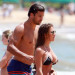 Eric Decker & Jessie James Take A Dip In Hawaii