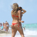Natasha Oakley Enjoys a Beach Day in Miami