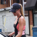 Rosie Huntington-Whiteley Leaving The Gym
