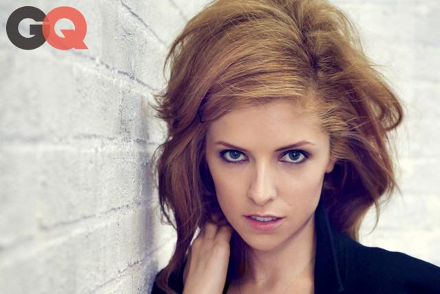 Anna Kendrick Strips Down For GQ, Goes Blonde And Topless