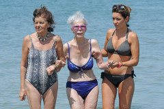 Duchess of Alba Shows Off Her Bikini Body
