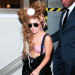 Lady Gaga Wears Seashells To The Seashell Restaurant