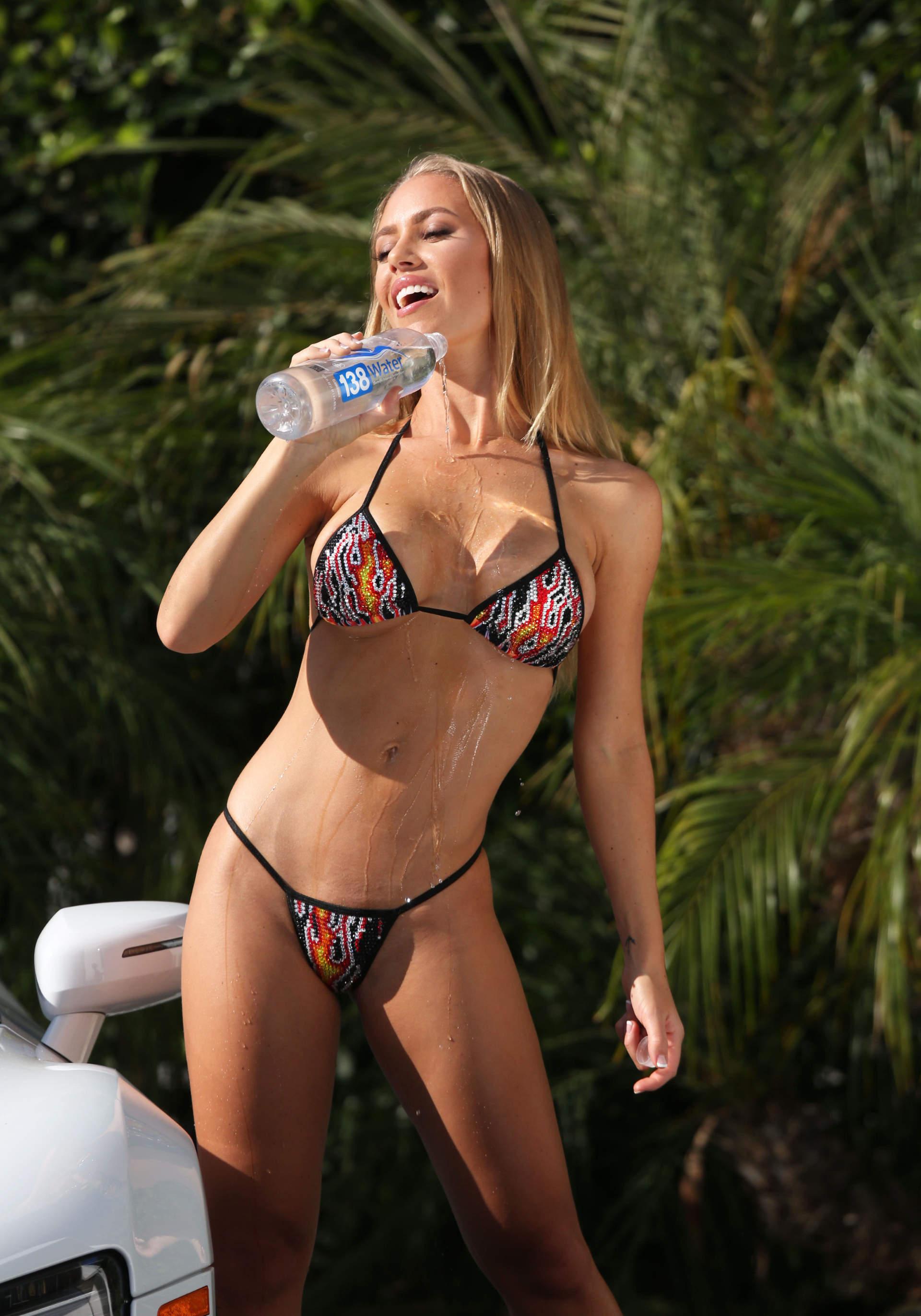 Nicole aniston bikini riot