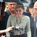 Miley Cyrus Greets Her Fans Outside NRJ Radio