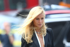 Gwyneth Paltrow Films For Hugo Boss In Los Angeles