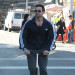 Hugh Jackman Rides His Scooter In The City