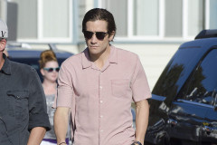 Jake Gyllenhaal Films 'Nightcrawler' In Venice