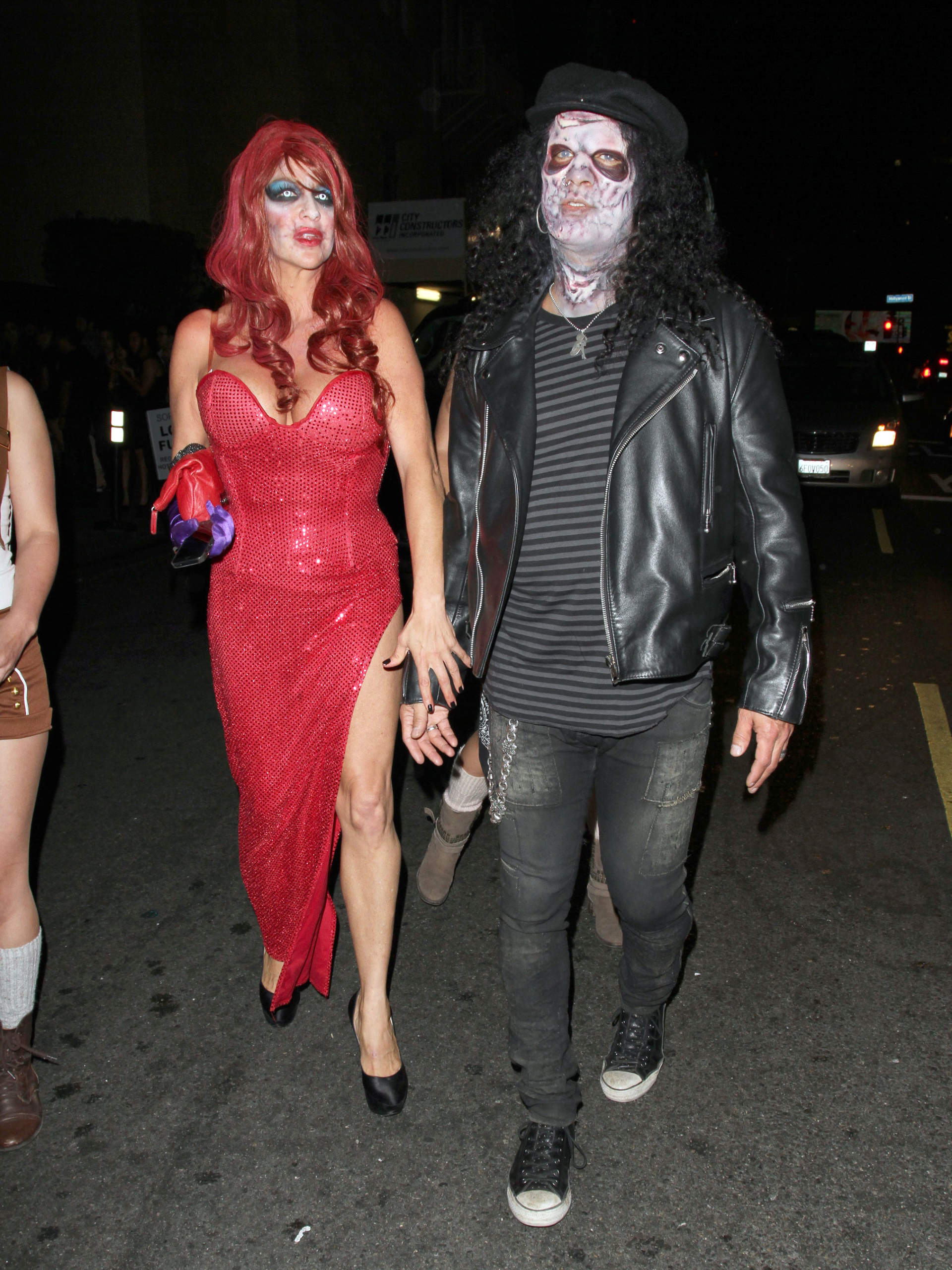 slash is a zombie in hollywood 170998 photos the blemish