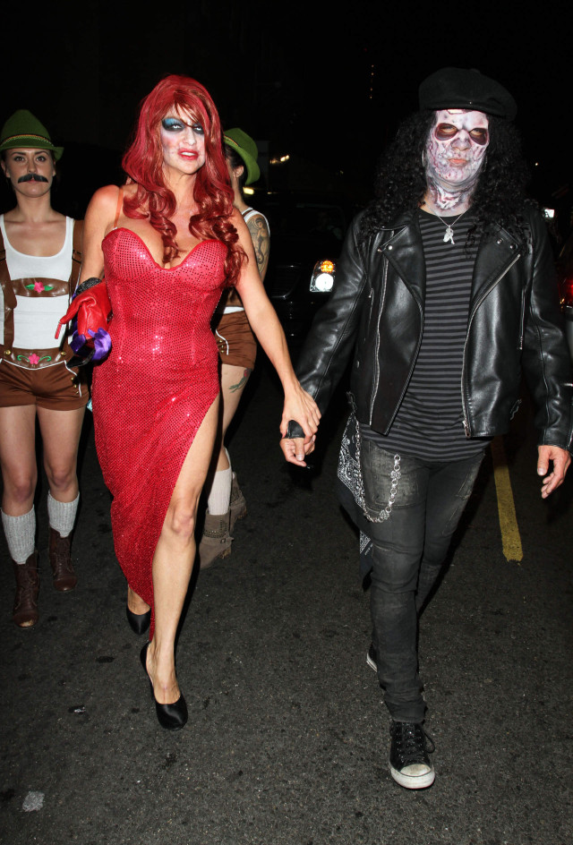slash is a zombie in hollywood 171004 photos the blemish