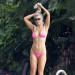 Joanna Krupa Does Headstands in Her Bikini