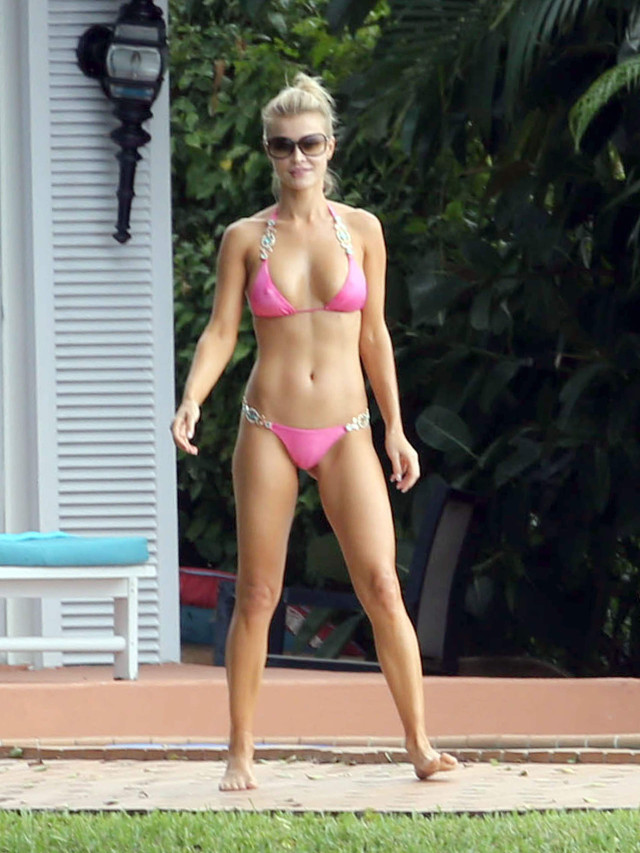 Joanna Krupa Does Headstands In Her Bikini 171885