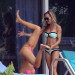 Joanna Krupa Does Headstands in Her Bikini