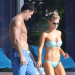 Joanna Krupa & Her Husband Sunbathing