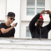 Justin Bieber Snaps Some Balcony Photos In Brazil