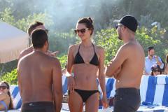 Alessandra Ambrosio Shows Off Her Bikini Body In Miami