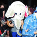 Harry Styles Leaving The Groucho Club Wearing An Elephant Head