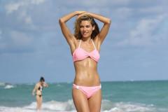 Jessica Hart Shows Off Her Beach Body