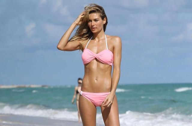 jessica-hart-pink-bikini