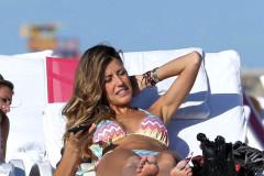 Martha Graeff Has A Bikini Malfunction In Miami