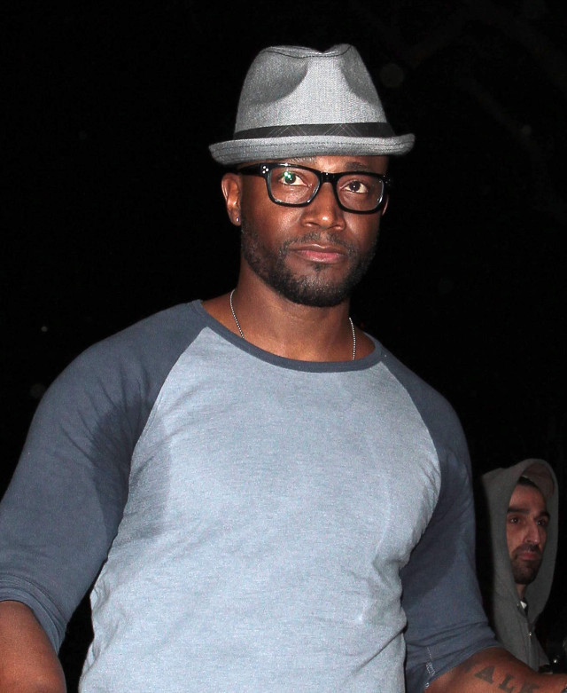 Taye Diggs Might Want To Look Into Buying Antiperspirant