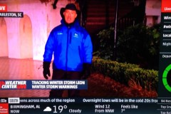 Jim Cantore Gets College Kid in the Groin