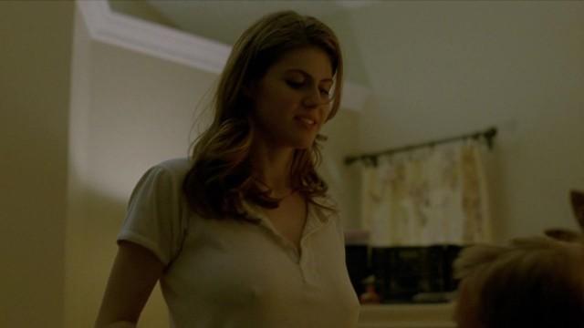 Look alexandra daddario nude scene true detective very pity