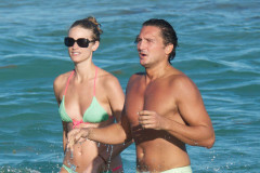 Julie Henderson Shows Off Her Bikini Body In Miami