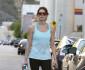 Ashley Greene Works Up A Sweat