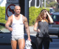 Kelly Brook's Boyfriend Wears Short Shorts