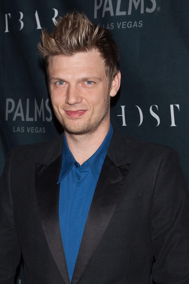 nick carter and fiancee lauren kitt celebrate coed